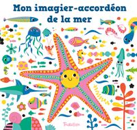 Cover of « Mon imagier-accordéon de la mer »