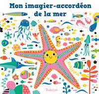 Couverture «Mon imagier-accordéon de la mer»
