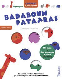 Cover of «COFFRET Badaboum patatras»