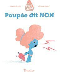 Couverture «Poupée dit NON – Poudchoux»