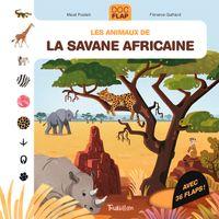 Couverture «Les animaux de la savane africaine»