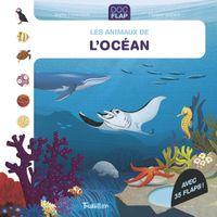 Couverture «Les animaux de l'océan»