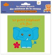 Couverture «Le petit éléphant et la fleur»