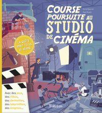 Couverture «Course poursuite au studio de cinéma»