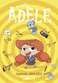 Couverture «L'agenda Mortelle Adèle»