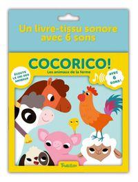 Couverture «Cocorico ! – Les animaux de la ferme»