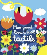 Couverture «Mon grand livre d'éveil tactile – Mon chemin des chatouilles»