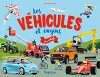 Couverture «Les véhicules et engins en relief»