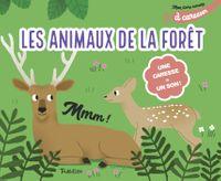 Couverture «Mon livre sonore des animaux de la forêt à caresser»