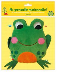Couverture «Ma grenouille marionnette»