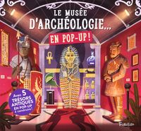 Couverture «Le musée d'archéologie… en pop up !»