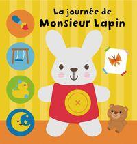 Couverture «La journée de Monsieur Lapin»