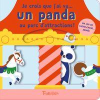 Couverture «Je crois que j'ai vu un panda… au parc d'attractions !»