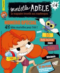 Cover of « Magazine Mortelle Adèle n°4 »