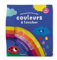 Couverture «Mon premier livre des couleurs à toucher»
