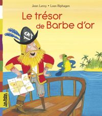 Couverture « Le trésor de Barbe d'Or »
