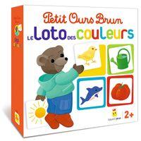 Couverture «Jeu Petit Ours Brun – Le loto des couleurs»