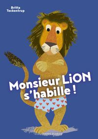 Cover of « Monsieur Lion s'habille »