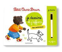 Couverture «L'ardoise de Petit Ours Brun – Les animaux»