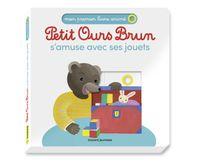 Couverture «Petit Ours Brun s'amuse avec ses jouets – Mon premier livre animé»