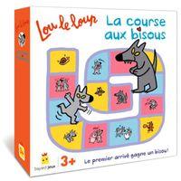 Couverture «Lou le loup – La course aux bisous»