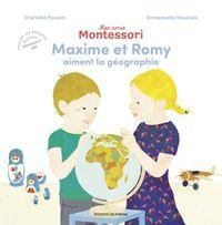 Couverture «Maxime et Romy aiment la géographie»