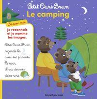 Couverture «Petit Ours Brun, lis avec moi – Le camping»