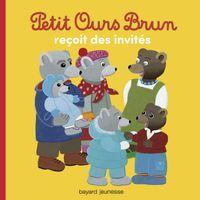 Couverture «Petit Ours Brun reçoit des invités»