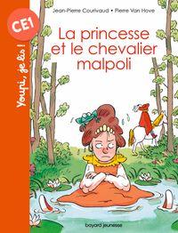 Couverture «La princesse et le chevalier malpoli»