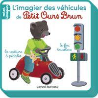 Couverture «L'imagier des véhicules de Petit Ours Brun»