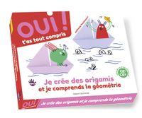 Couverture «Box 4 : je crée des origamis et je comprends la géométrie»