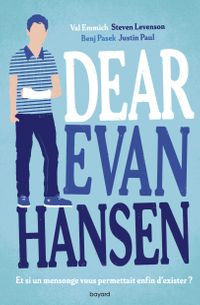 Couverture « Dear Evan Hansen »