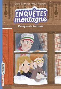 Cover of « Panique à la trattoria »