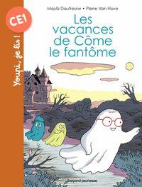 Couverture «Les vacances de Côme le fantôme»