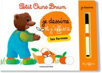 Couverture «Je dessine et j'efface les formes avec Petit Ours Brun»