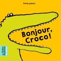 Couverture «Bonjour, Croco !»