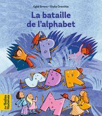Couverture «La bataille de l'alphabet»