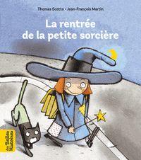 Couverture «La rentrée de la petite sorcière»