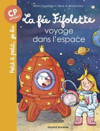 Couverture «La fée Fifolette voyage dans l'espace»