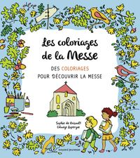 Couverture «Les coloriages de la messe»