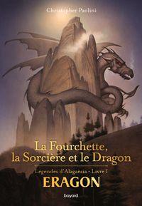 Couverture «La fourchette, la sorcière et le dragon»