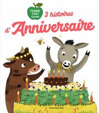 Cover of «3 histoires d'anniversaire»