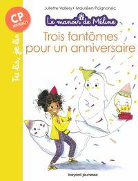 Couverture «Trois fantômes pour un anniversaire»