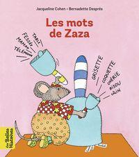 Couverture «Les mots de Zaza»
