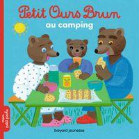 Couverture «Petit Ours Brun au camping»