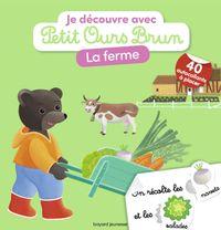 Couverture «Je découvre la ferme avec Petit Ours Brun»