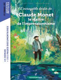 Couverture «Roman Doc Art – Claude Monet, le maître de l'impressionnisme»
