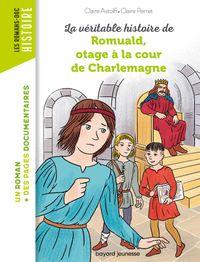 Couverture «Romuald, otage à la cour de Charlemagne»