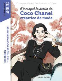 Couverture «L'incroyable destin de Coco Chanel, créatrice de mode»