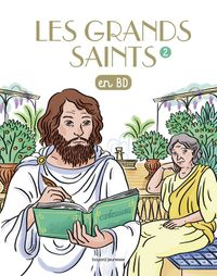 Couverture « Les Grands saints T2 »